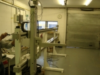 XZ gantry and control system for a coating dipping process